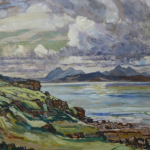 Skye View from Rassay