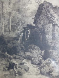 Myles Birket Foster- Water Mill