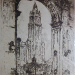 Joseph Pennell -Woolworth Building New York