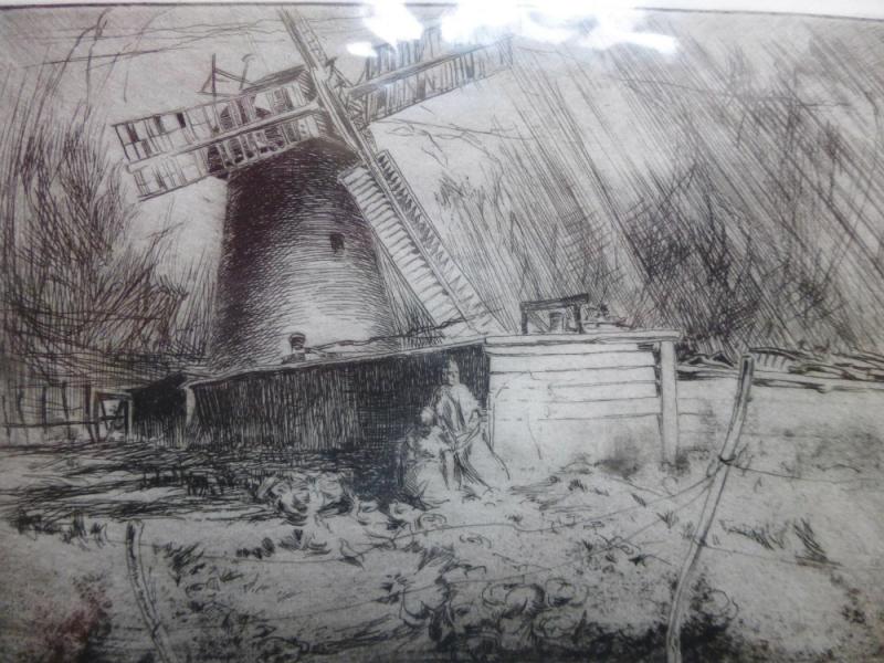 Dutch Grain Mill