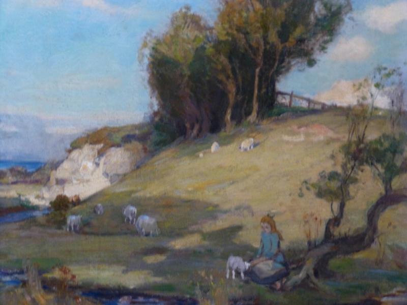 Feeding the Pet Lamb