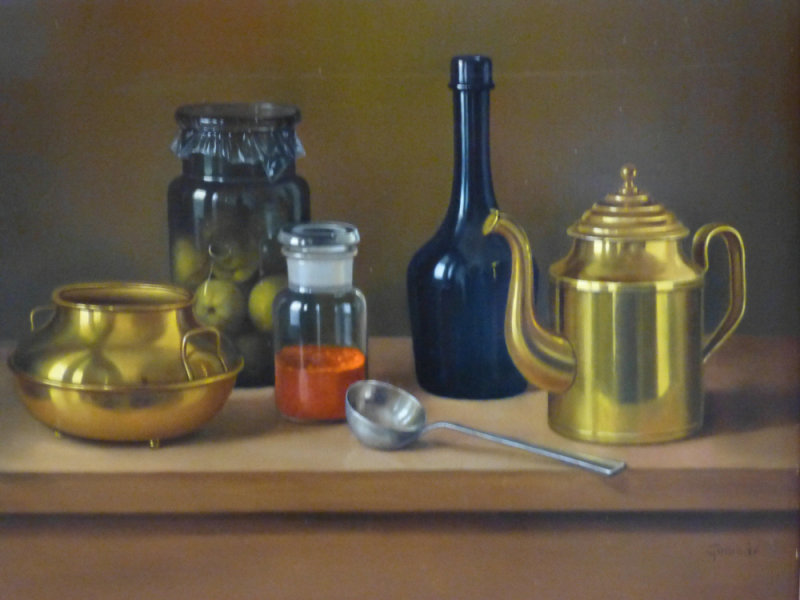 Glass and Brass