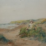 Tom Patterson - child on the beach