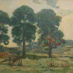 David Forrester Wilson- hay cart