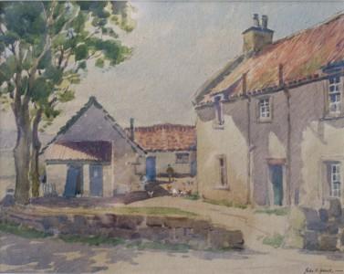 John S Spence - farmyard