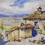 MACLAUGHLAN MILNE- French Farmyard