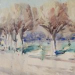Francis Campbell Cadell - in the park