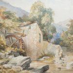 W H Deock - Watermill