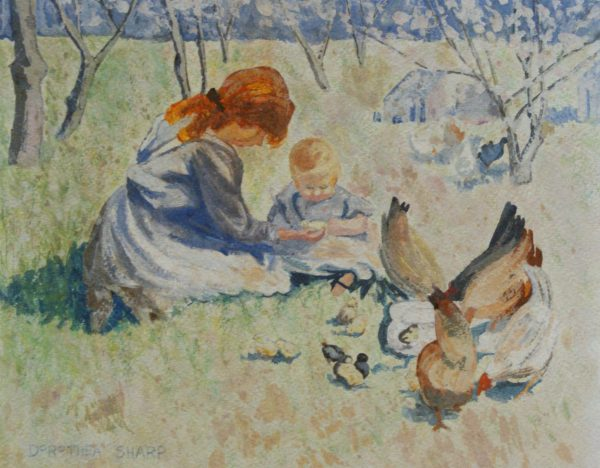 Dorothea Sharp- In the orchard