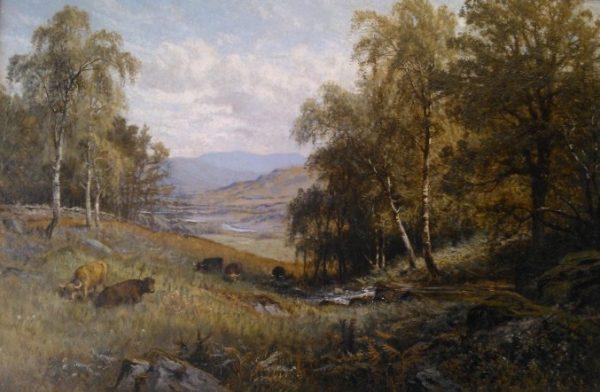 Alfred Augustus Glendening- highland glen