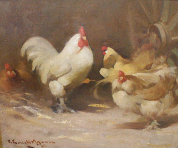 Robert Russell Macnee On the farm