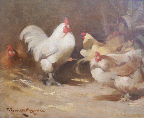 Robert Russell Macnee- on the farm