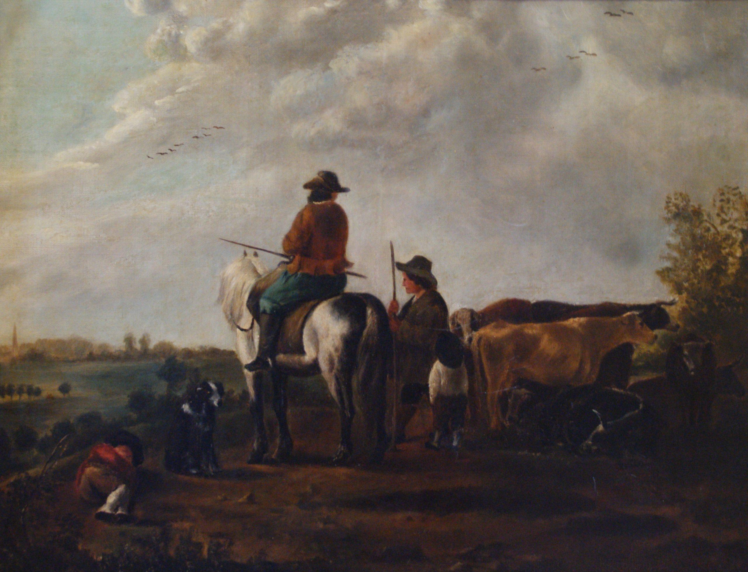 Dutch oil - cattle drovers