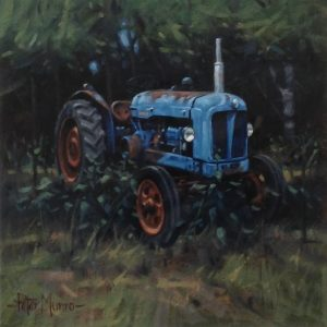 Peter Munro Blue Tractor