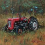 Peter Munro Red tractor