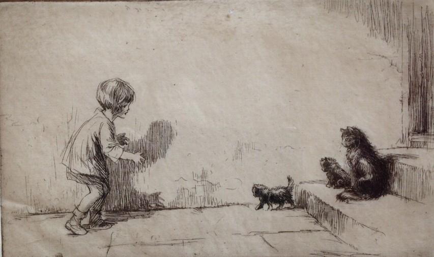 Eileen Sper Black puss-cats