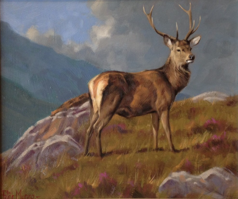 Peter Munro - the stag