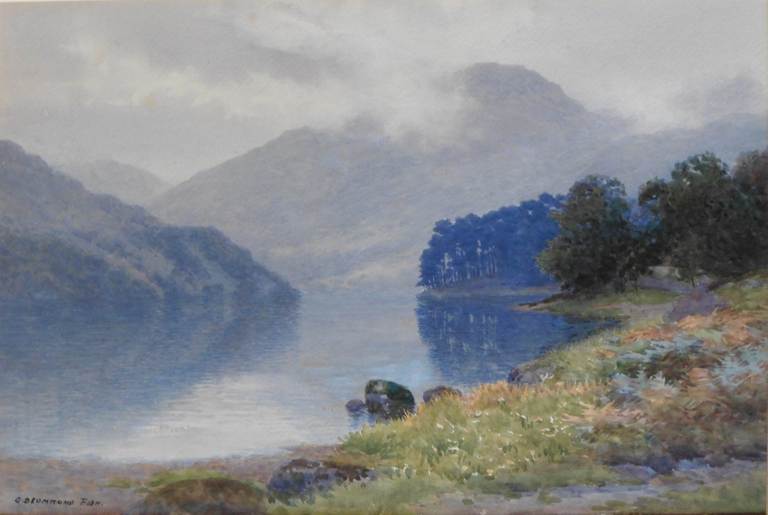 Captain George Drummond Fish -Loch Eck