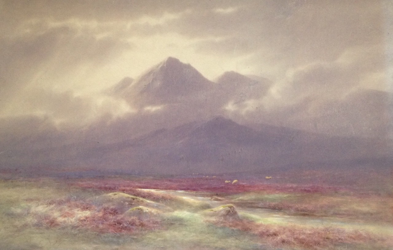 Glen Lyon Perthsire by Charles Edward Brittan