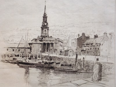 old habour galsgow - harold storey