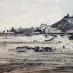 Macduff from Banff coast - harold storey