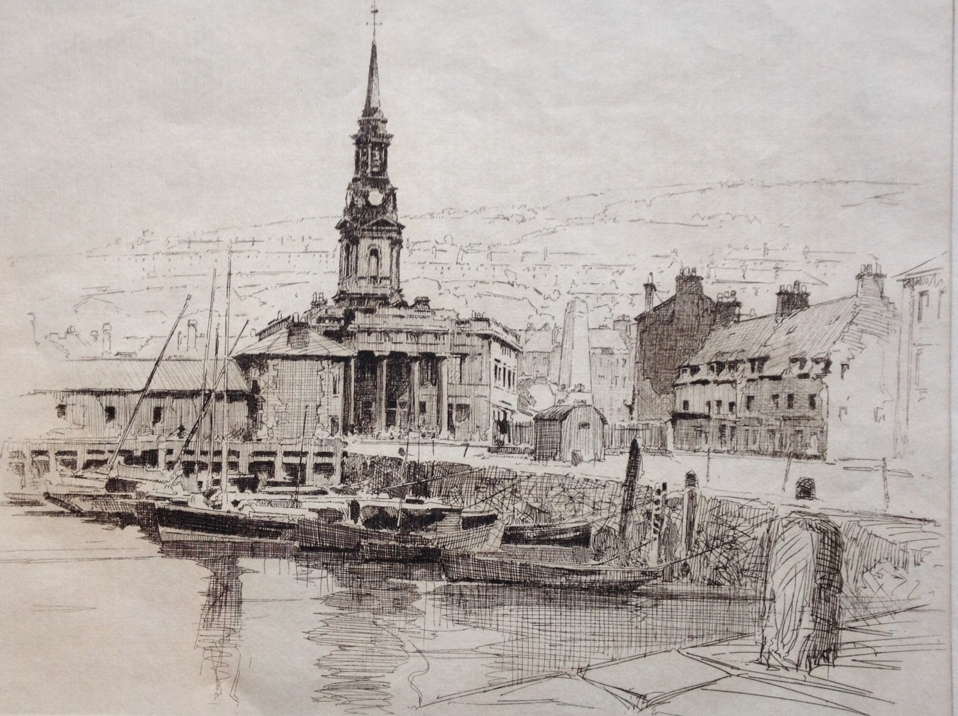 old port glasgow - harold storey