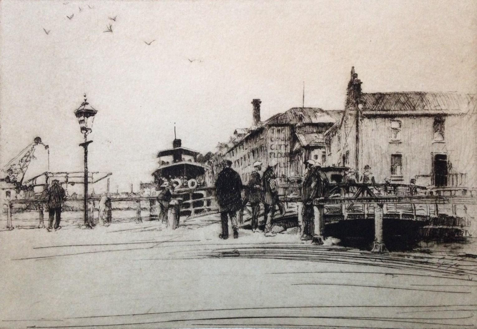 Port Dudas by Harold Storey