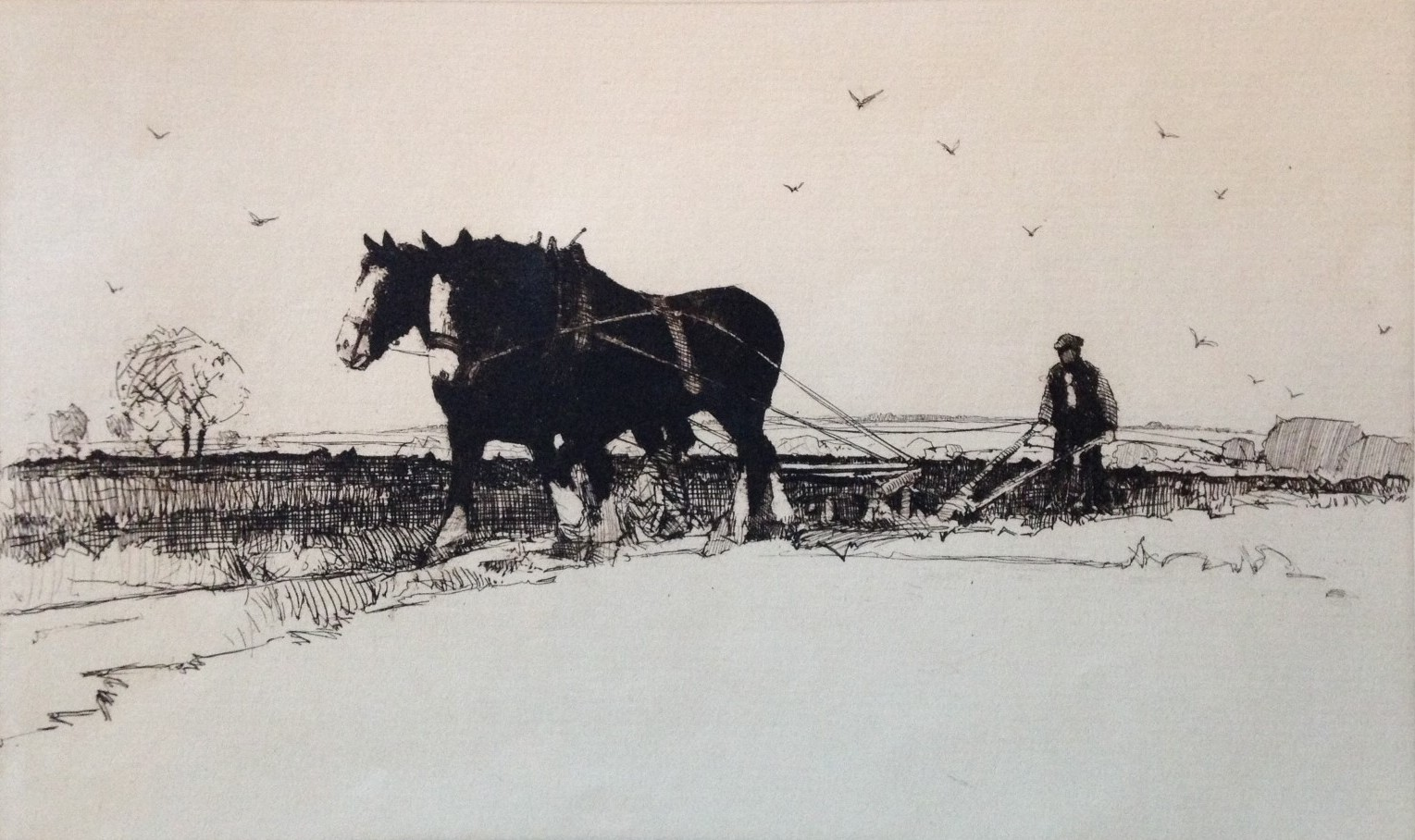 speed the plough - artist Harold Storey