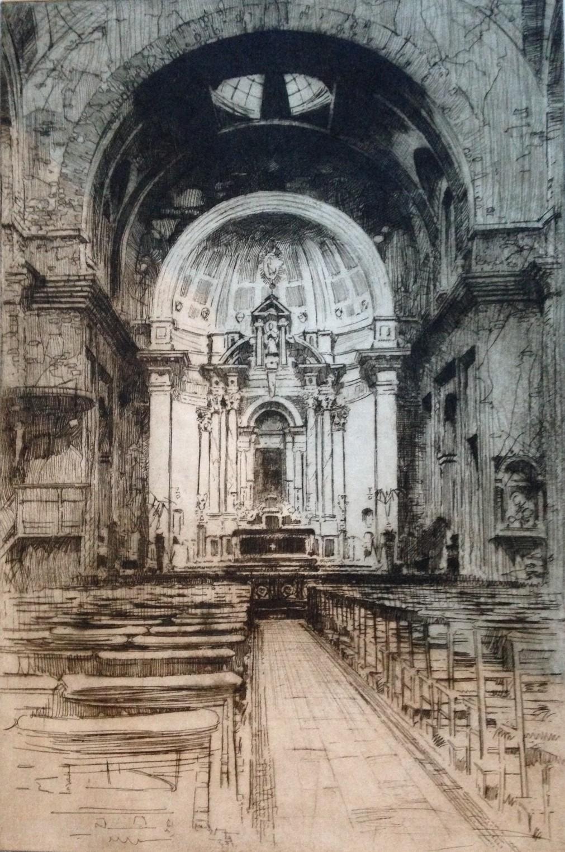 St aloysius church glasgow - harold storey