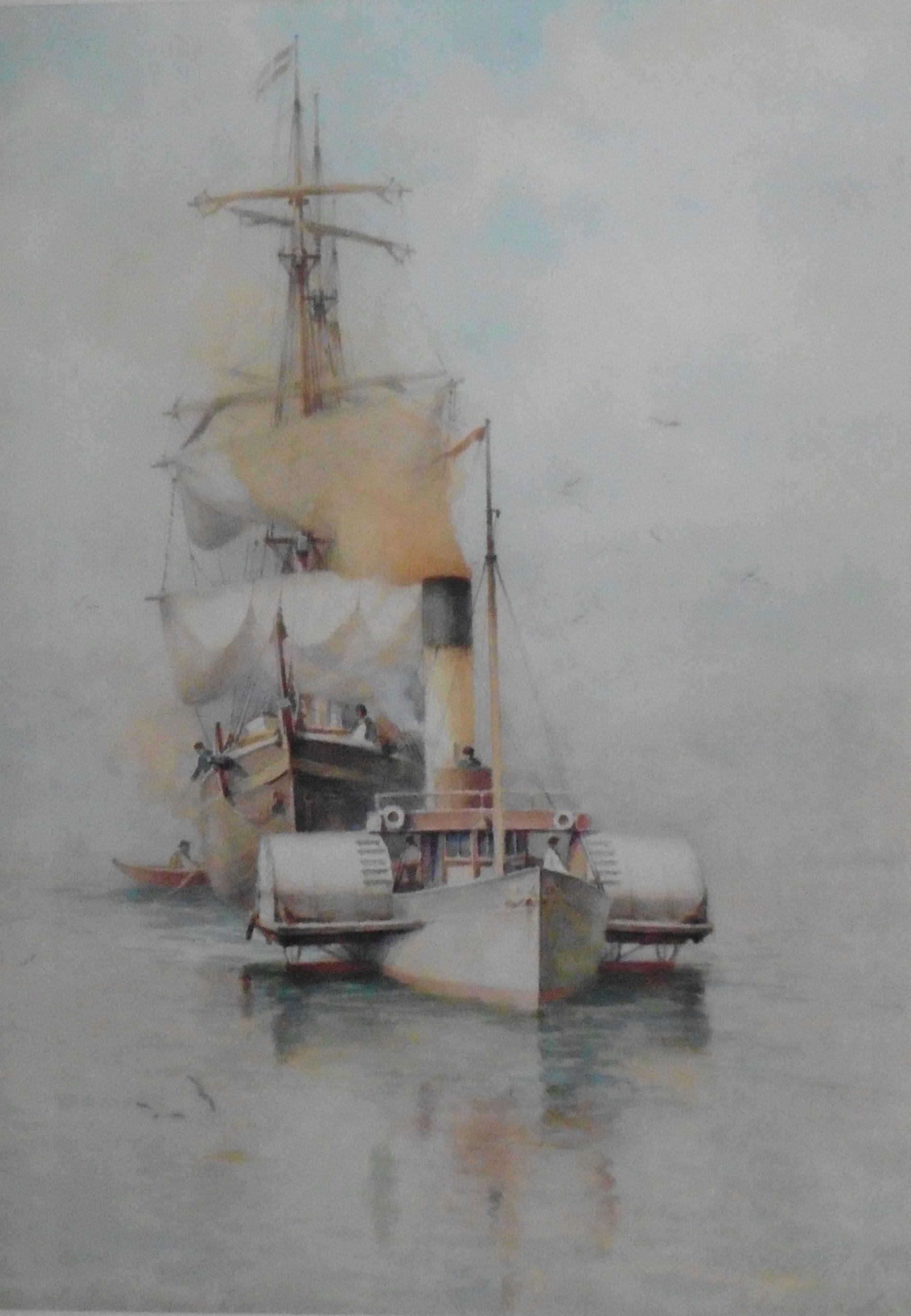 William Woolard Paddle Tug Boat