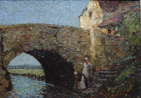 At the river by Percy Lancaster