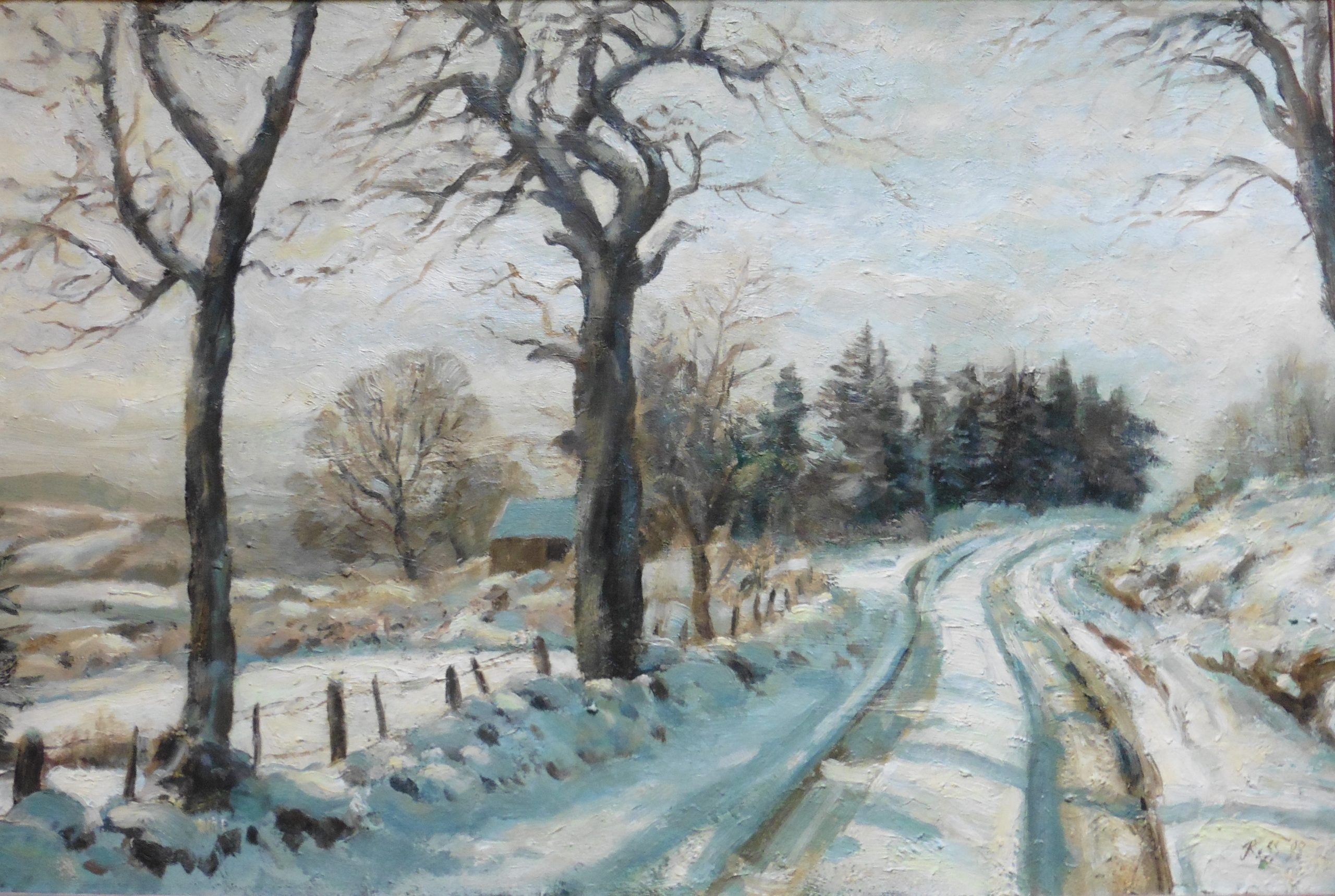 The winter Road by John Ross