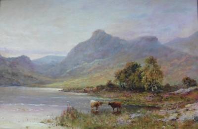 Loch Lomond - Alfred Fontville de Breanski
