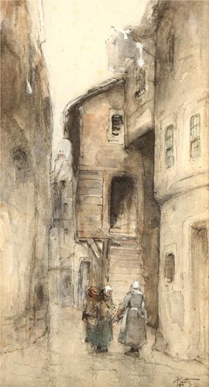 plainstones close edinburgh by James Little