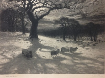 O'er Snow-clad Pastures joseph farquharson