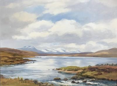 Near Achiltibuie by Robert Egginton