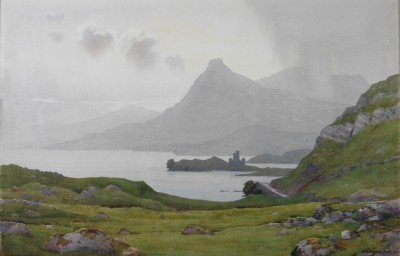 Ardvreck Castle by Captain George Drummond Fish