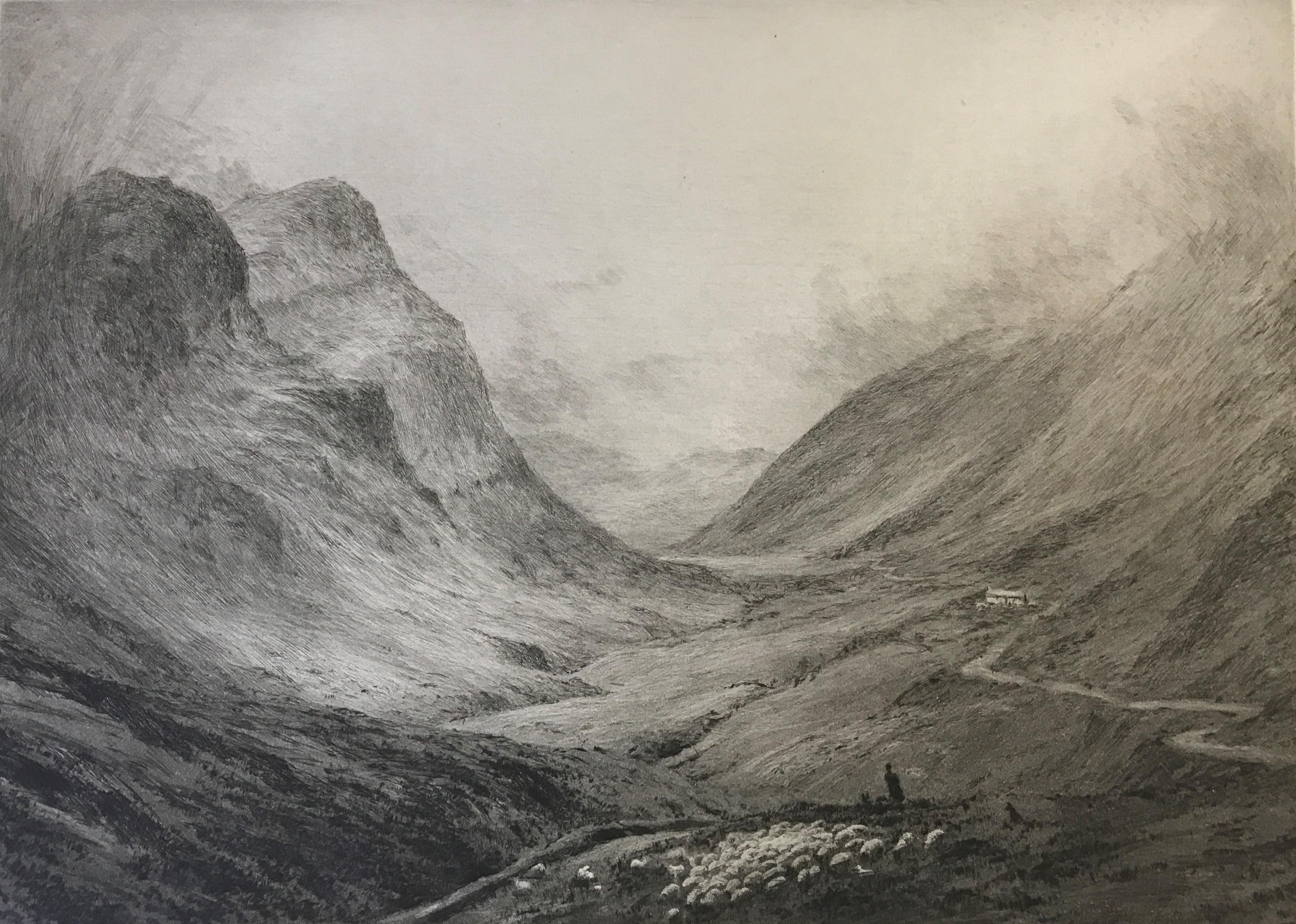 William Lionel Wyllie - Glencoe