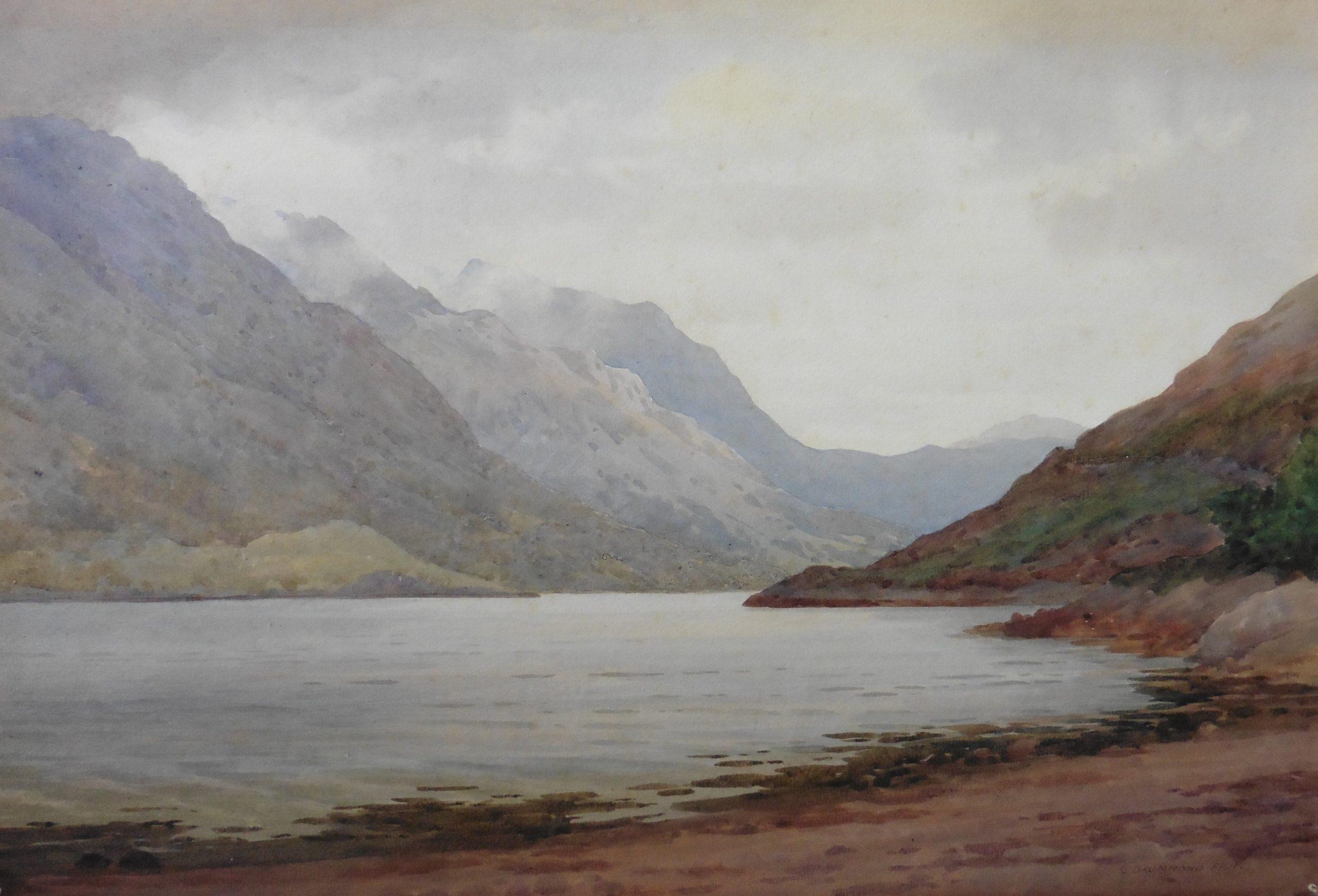 Loch Leven  Captain George Drummond Fish