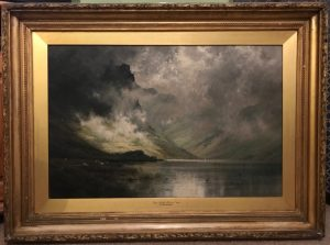 Alfred Fontville de Breanski Loch Etive