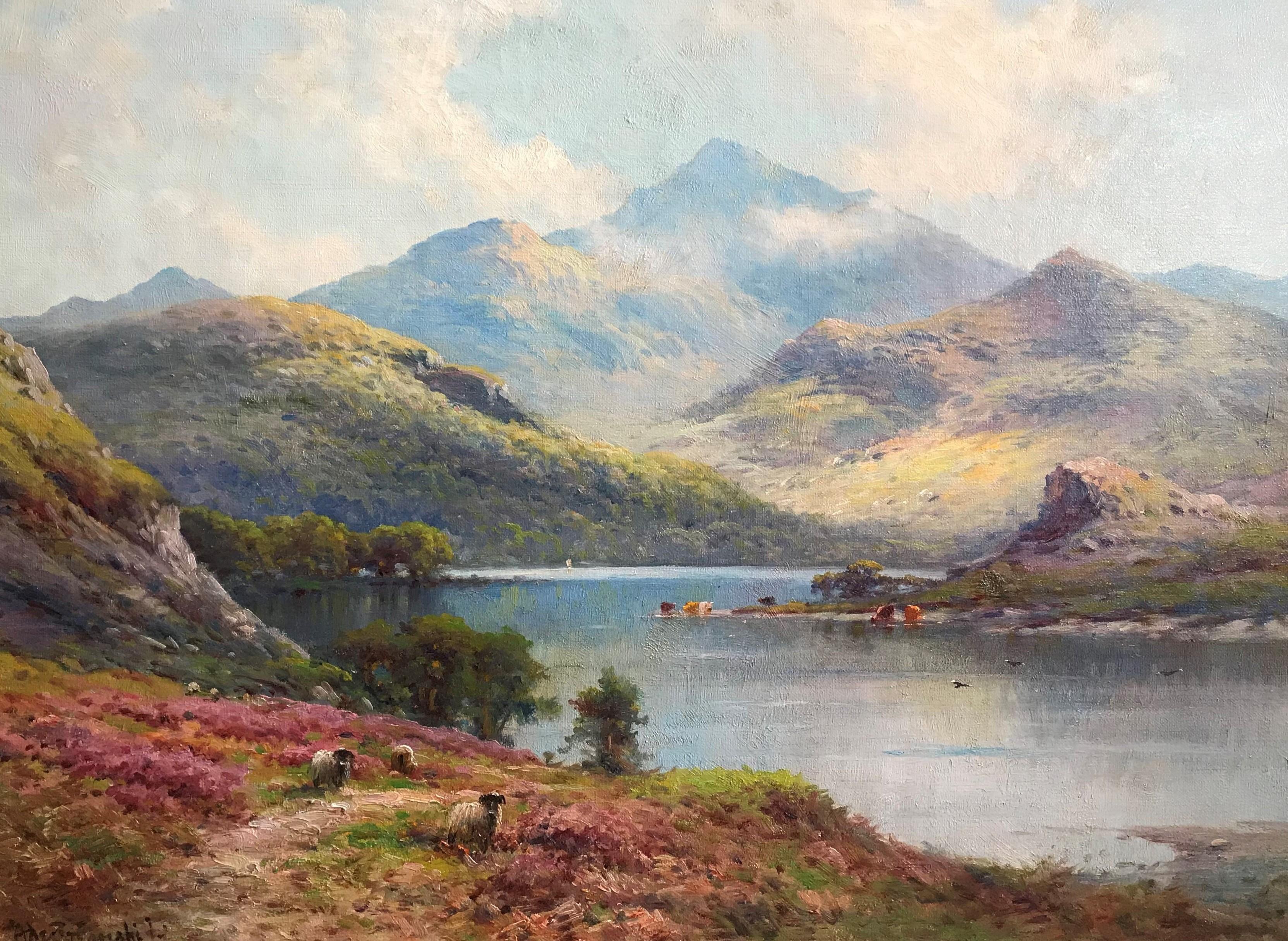 Alfred Fontville de Breanski west highlands