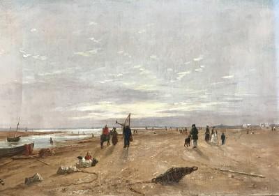 On the sands at Rhyl Hopkins Horsley Hobday Horsley