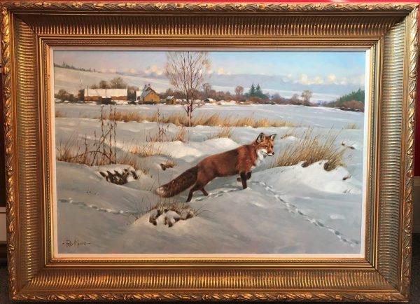 Peter Munro -fox in winter (4)