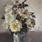 Lucy M Miles white roses
