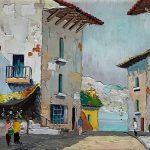 San Remo - Cecil Rochfort D'Oyly John