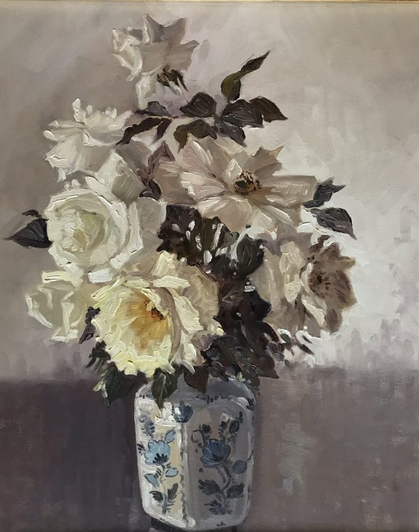 Lucy Mary Miles White roses