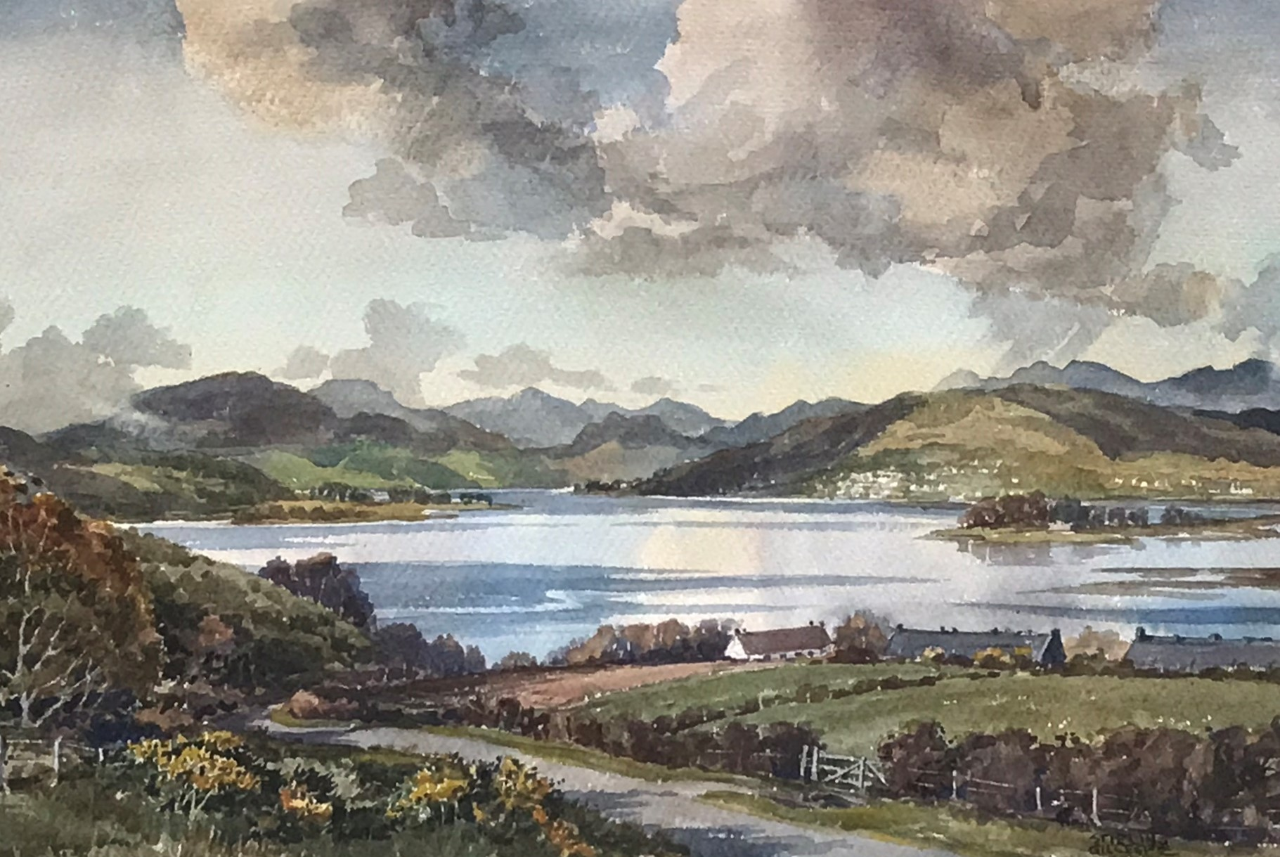 The firth of Clyde and teh Mouth of the Gareloch - Stirling Gillespie