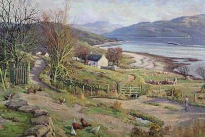 Donald Shearer highland croft