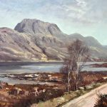 Donald Shearer siloch and Loch Maree