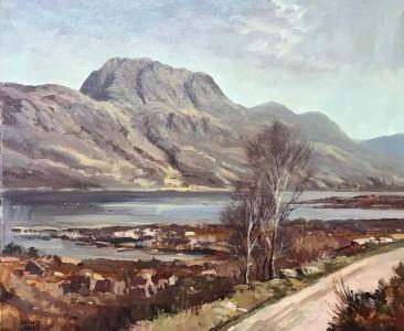 Donald Shearer siloch and Loch Maree